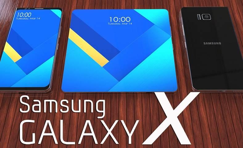 Samsung Galaxy X ARATA Noul Design