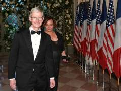 Tim cook inalnire donald trump