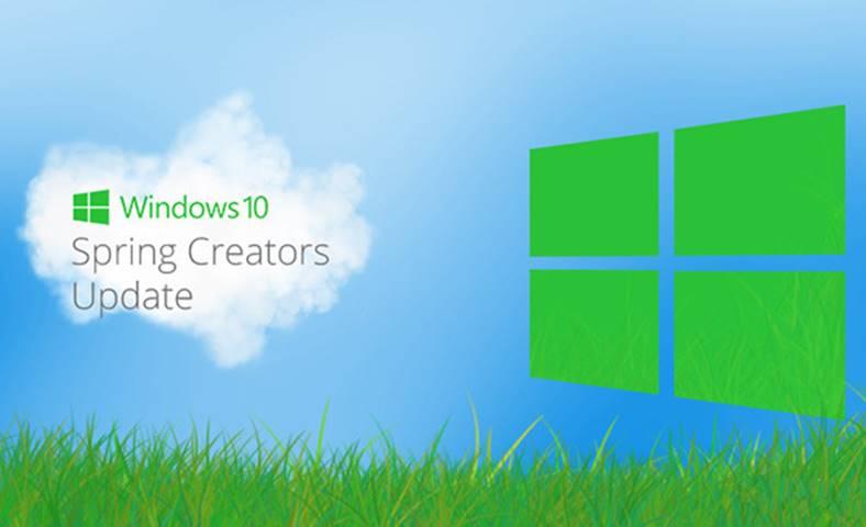 Windows 10 Spring Creators Update Lansare AMANATA Microsoft