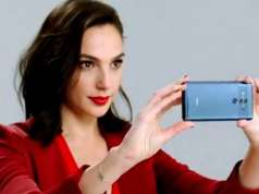 Wonder Woman Promoveaza Huawei Mate 10 iPhone