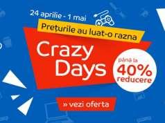 eMAG Crazy Days Mii de Reduceri 1 mai