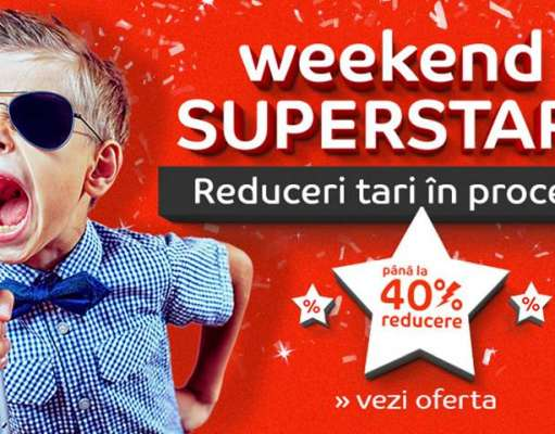 eMAG Reduceri EXCLUSIVE Weekend Superstars AZI