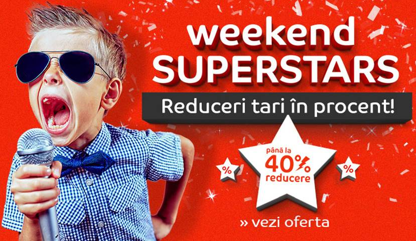 eMAG Reduceri EXCLUSIVE Weekend Superstars AZI