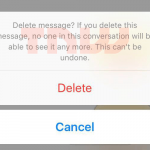 facebook messenger stergere mesaje