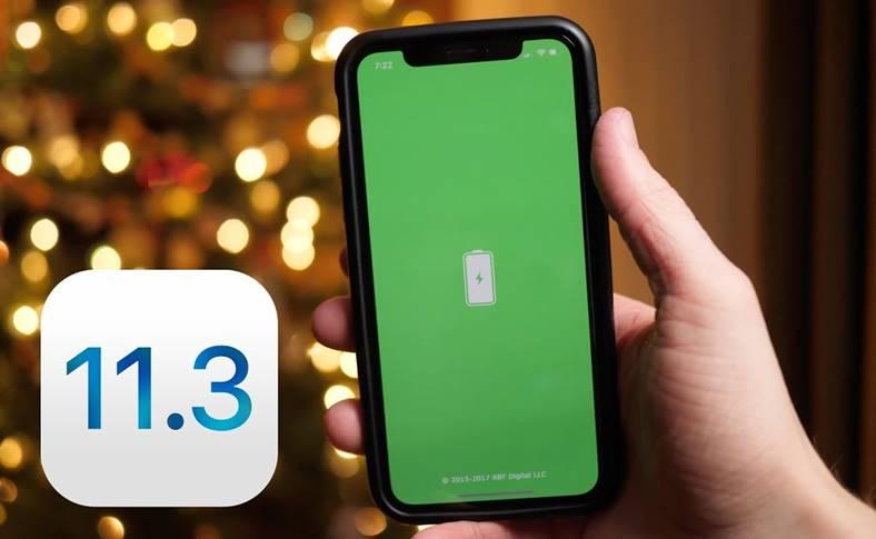 iOS 11.3 iOS 11.2.6 Test Autonomiei Bateriei