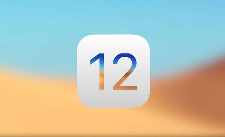 iOS 12 Apple Testarea Scara Larga