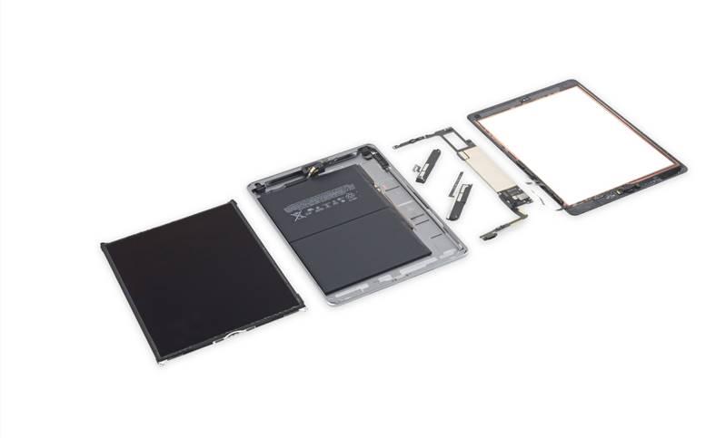 iPad 2018 dezasamblare