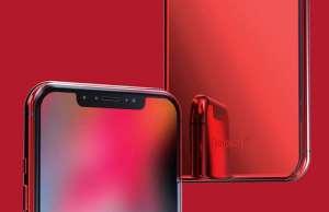 iPhone X Concept Arata Frumos Model Rosu