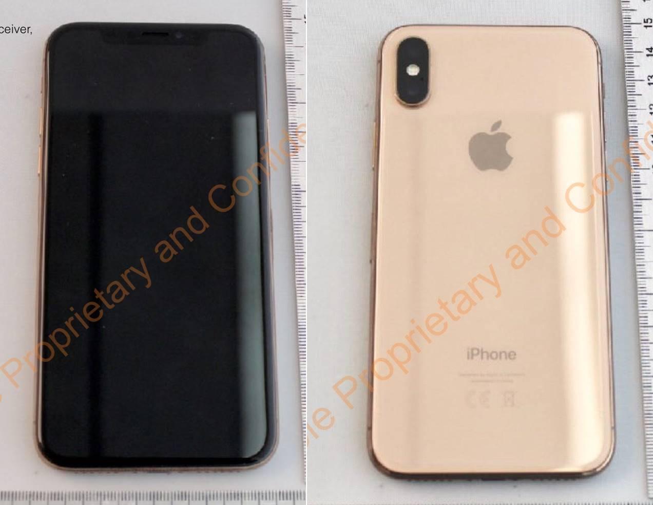 iPhone X auriu imagini 1