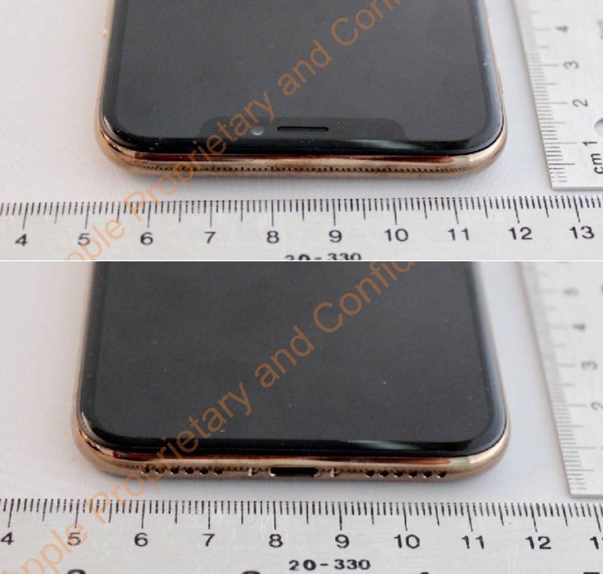 iPhone X auriu imagini 2