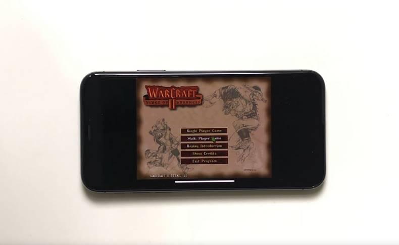 iPhone X warcraft II mac OS 8