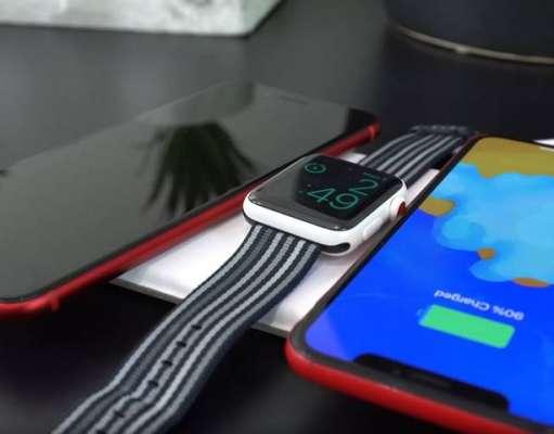 AirPower Clona Incarca Simultan Trei Gadget Apple