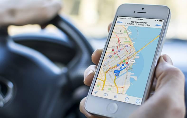 Apple Drone Imbunatati Apple Maps