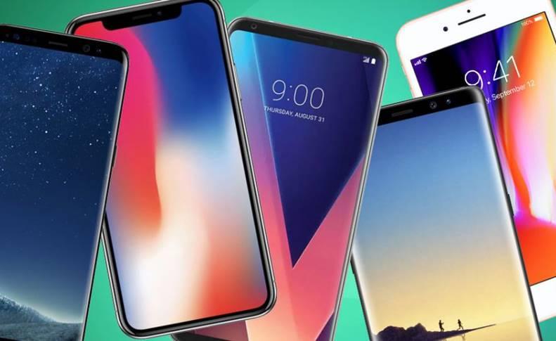Apple Samsung DOMINAT Vanzarile Smartphone T1 2018