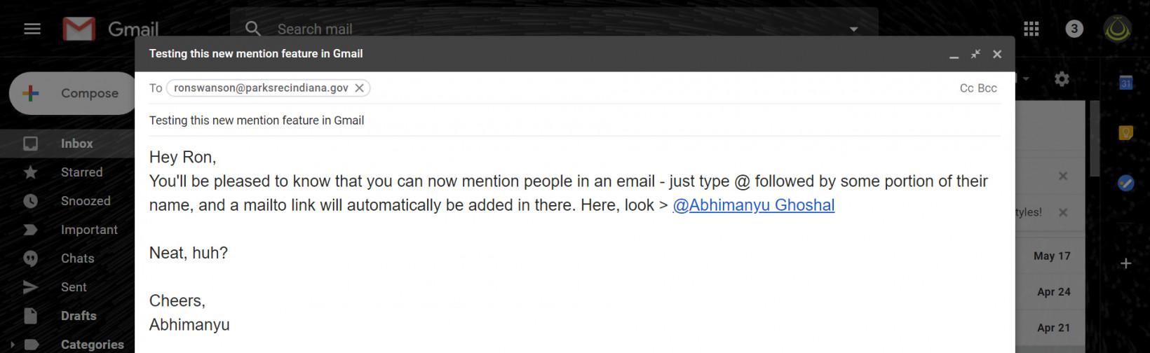 Gmail Functia SECRETA Lansata Google 1