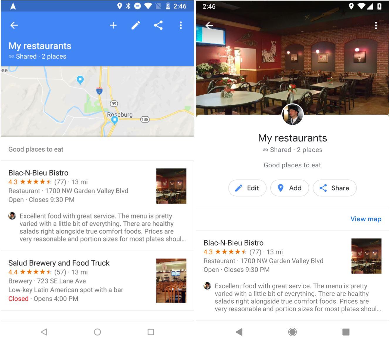 Google Maps 2 Functii NOI Telefoane Tablete 2