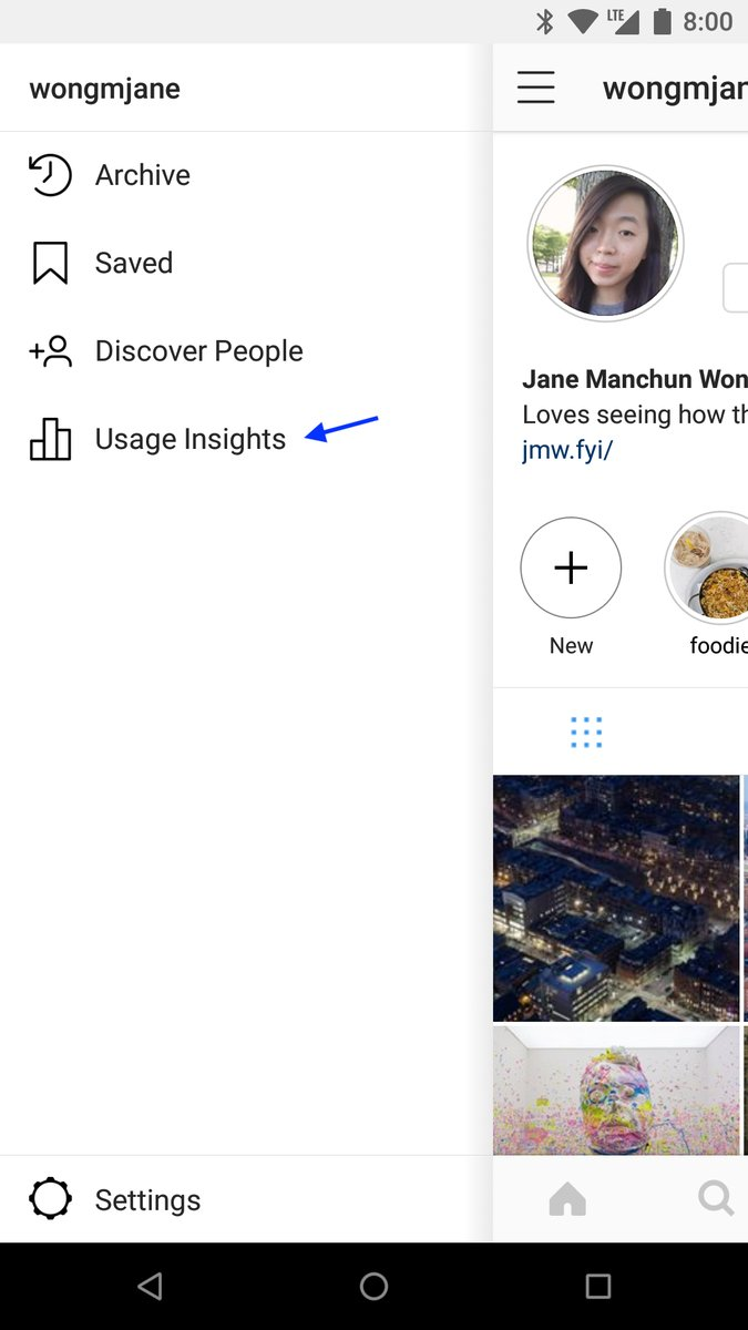 Instagram Spune Dependent Aplicatie 1