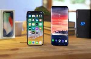 Samsung Galaxy S9 INTRECE iPhone X Functie MAJORA