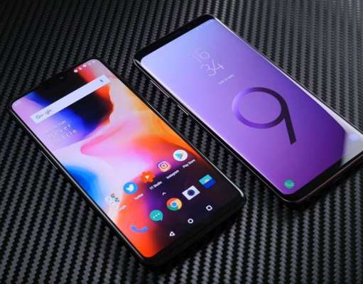 Samsung Galaxy S9 Plus OnePlus 6 Comparatia Camerelor