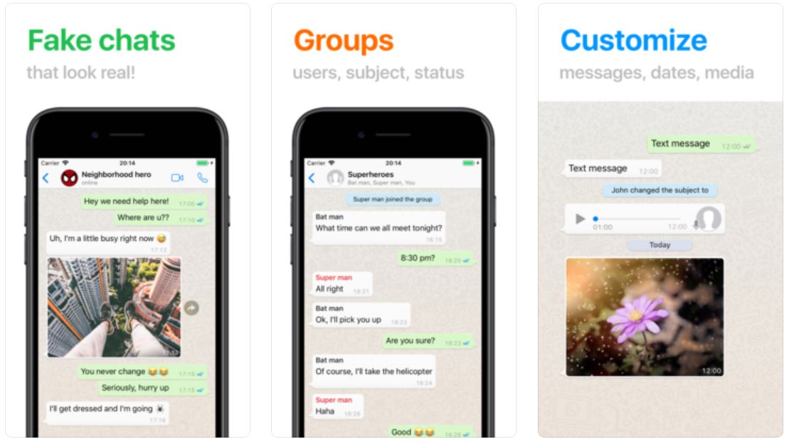 WhatsApp Conversatii FALSE Pacalesti Prietenii 1