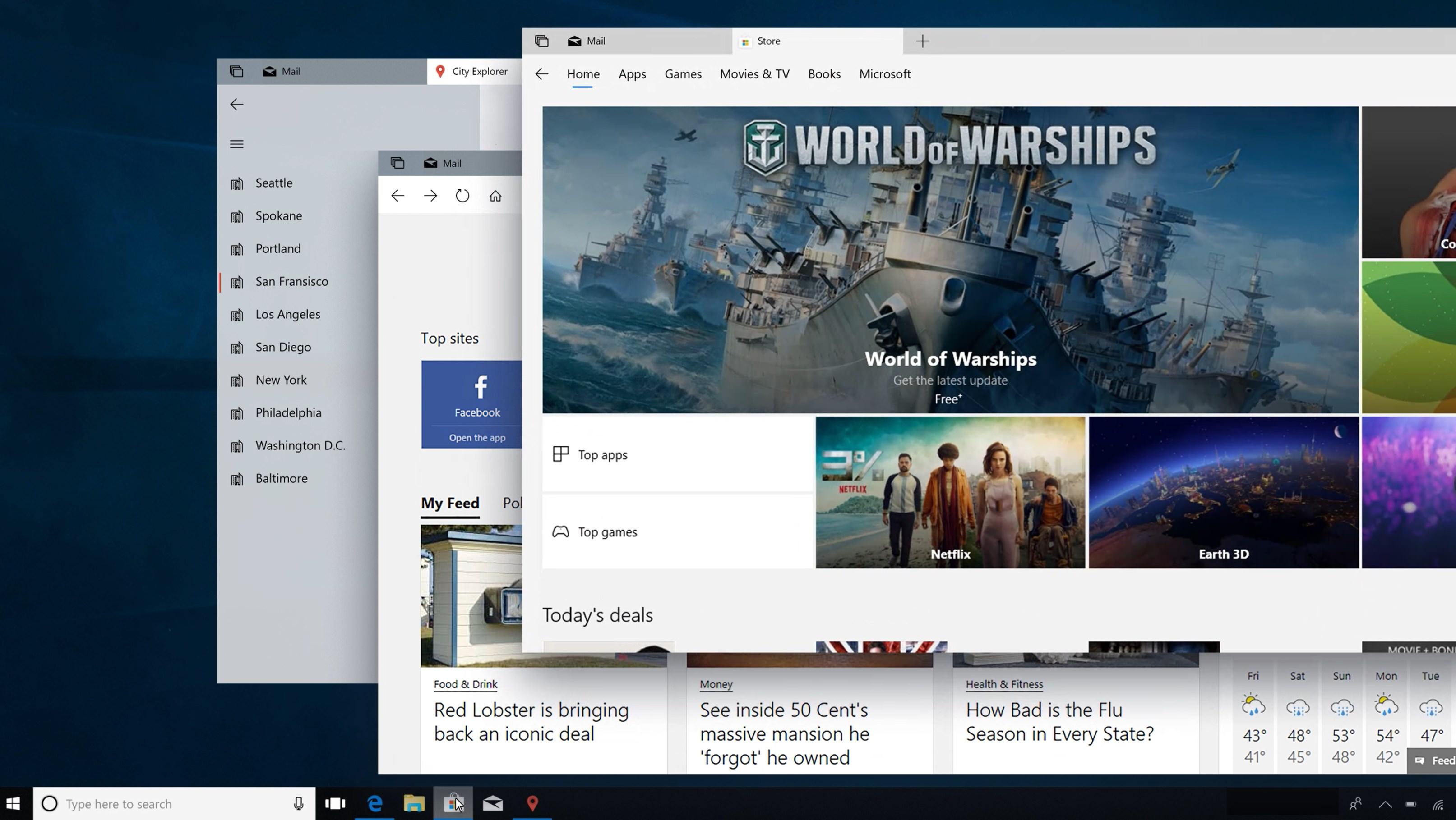 Windows 10 NOUL DESIGN Prezentat Microsoft 4