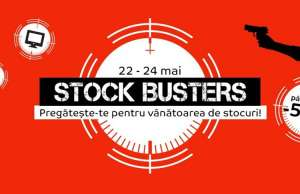 eMAG 50.000 stock busters REDUceri incepe