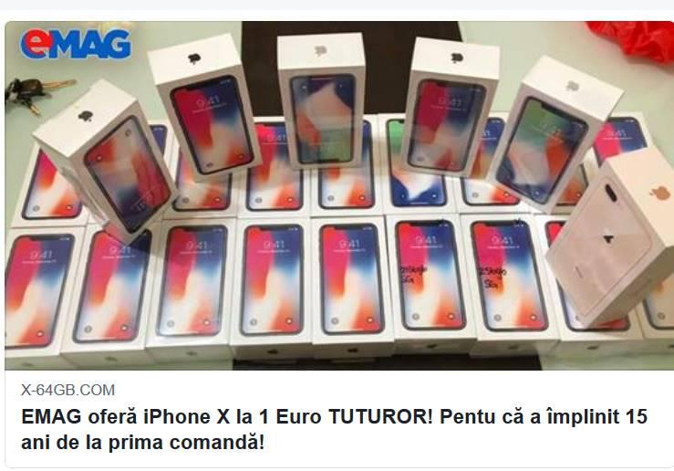 emag teapa iPhone x