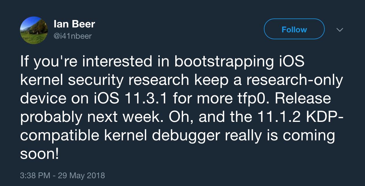 iOS 11.3.1 Jailbreak Aproape Credeai 1