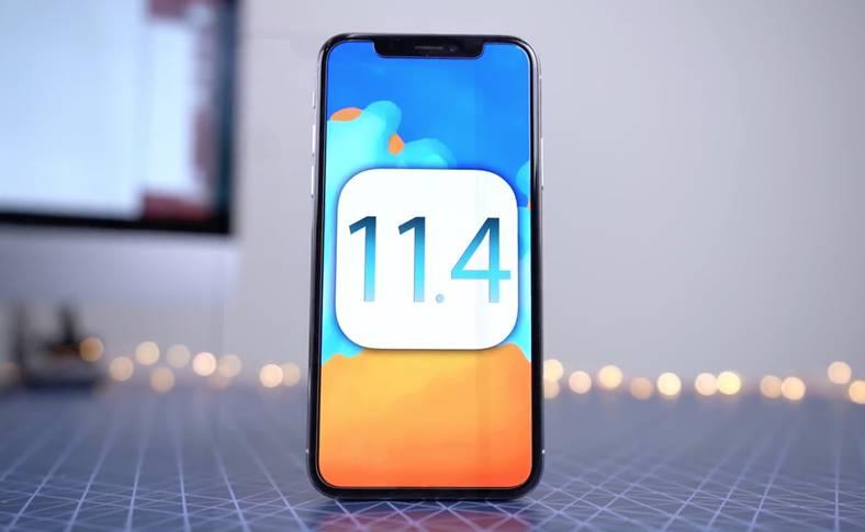 iOS 11.4 Autonomia Bateriei iPhone