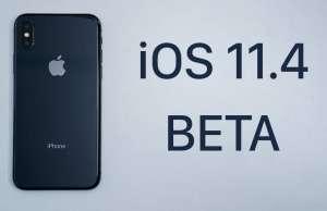 iOS 11.4 beta 4 Comparatia Performante iOS 11.3.1