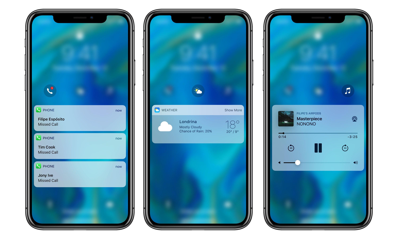 iOS 12 Concept Schimbari MARI iPhone 2