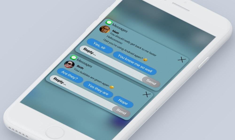iOS 12 concept notificari 2