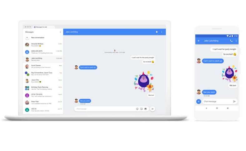 Android Messages Functia iMessage Nevoie