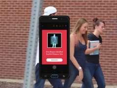 Carcasa iPhone 8 DETECTEAZA Arme BOMBE