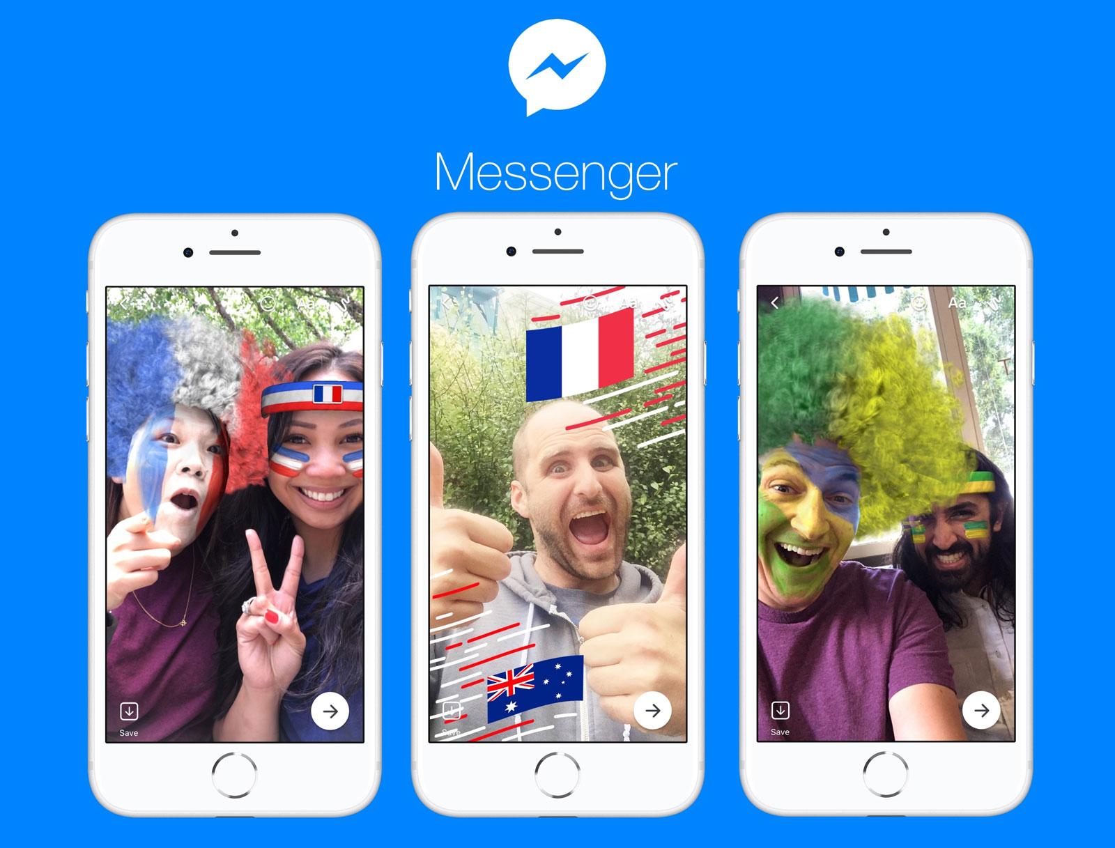 Facebook Messenger Update Cupa Mondiala 1
