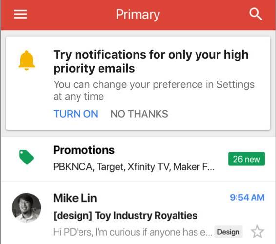 Gmail Functia NOUA Folosi Timpul