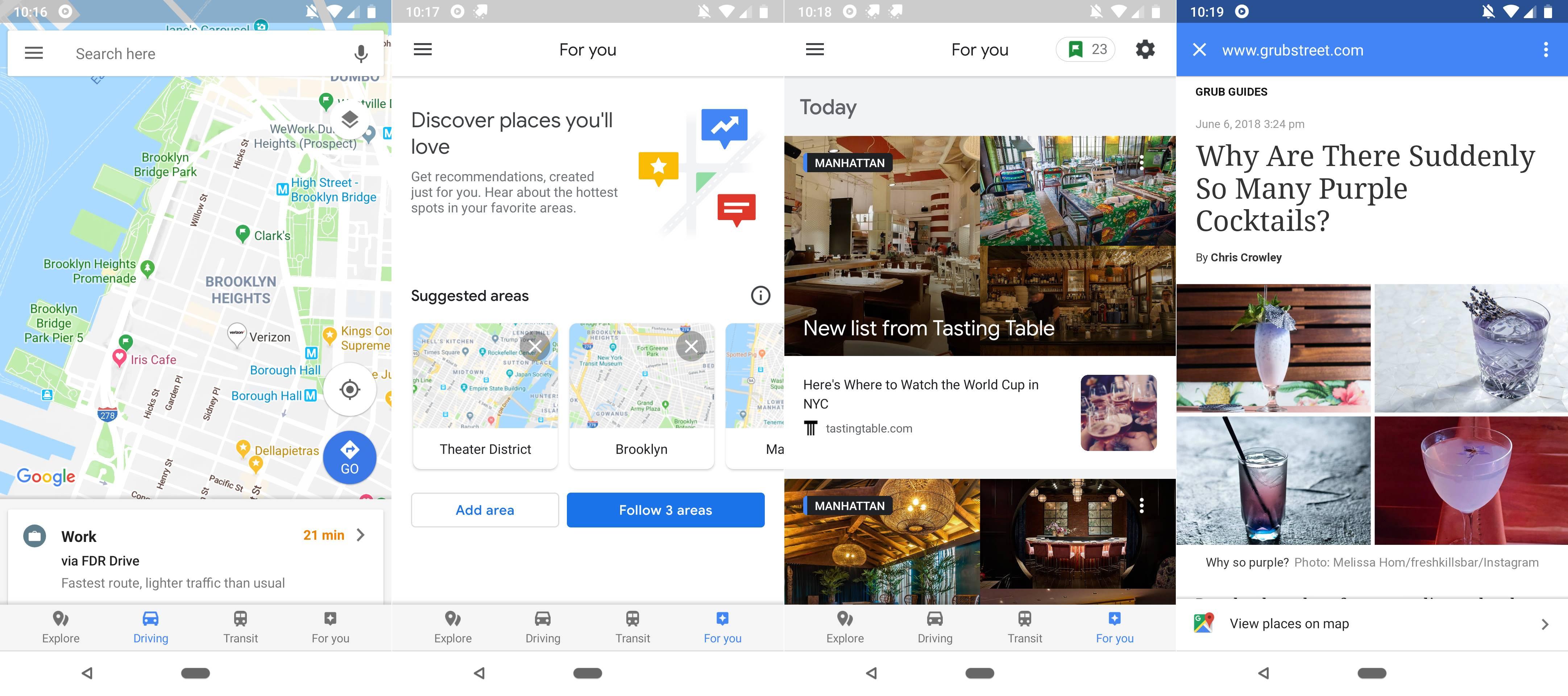 Google Maps Noua Functie EXCELENTA OFICIAL 1