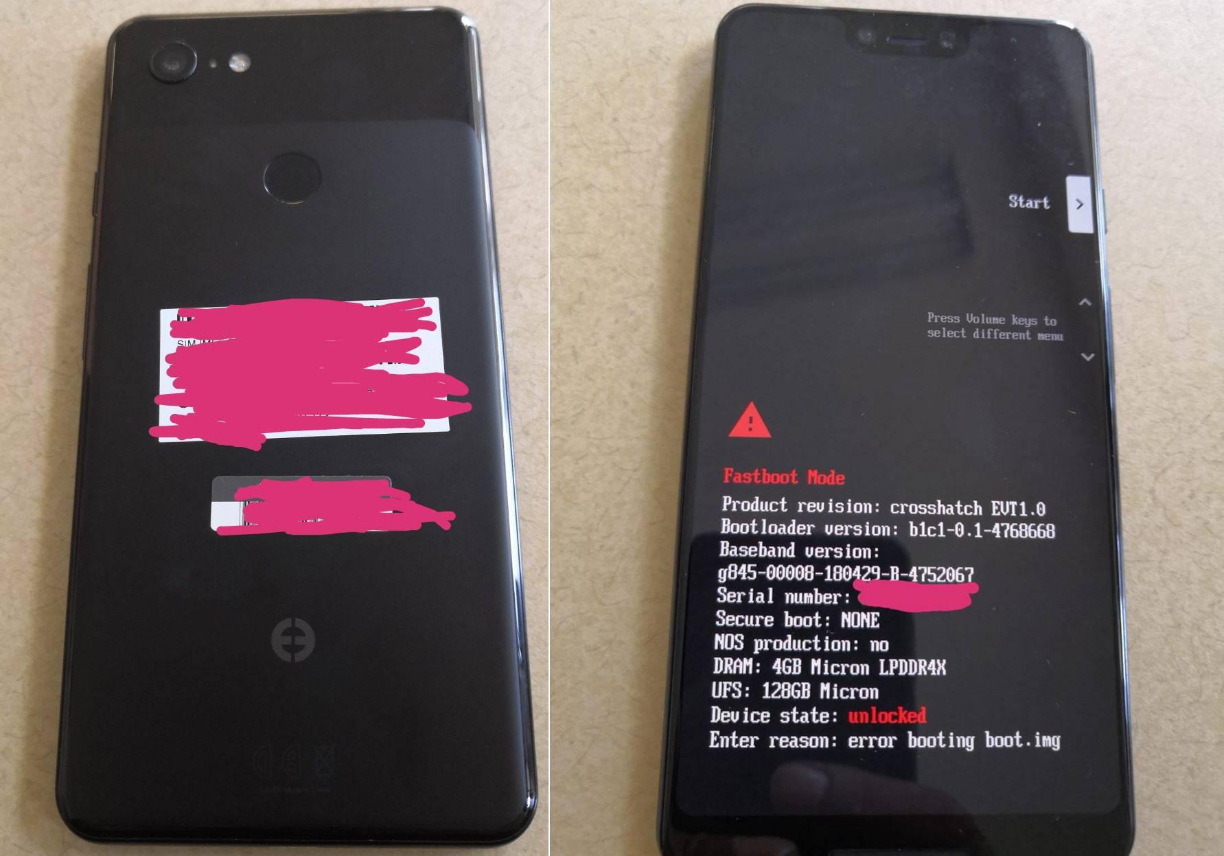 Google Pixel 3 PORNIT Primele Imagini 1