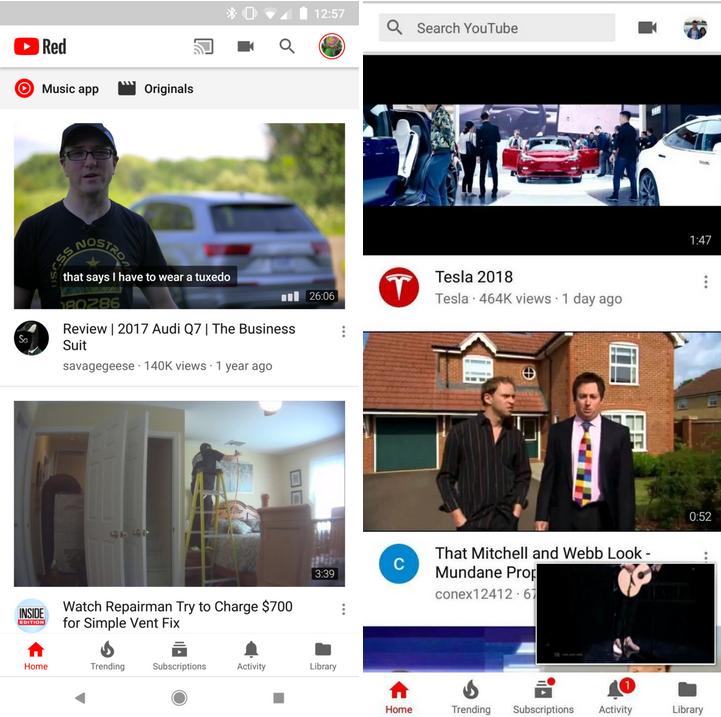 Google Schimbare MAJORA Interfata YouTube 1