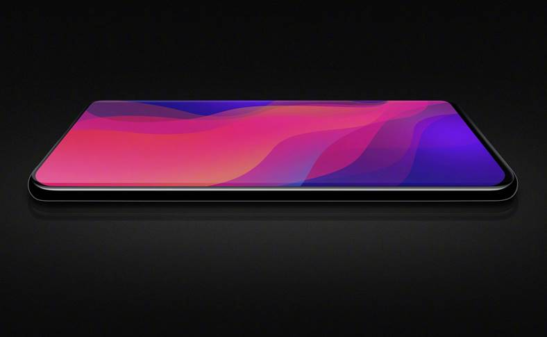 Oppo Find X VIDEO Telefon VISELOR