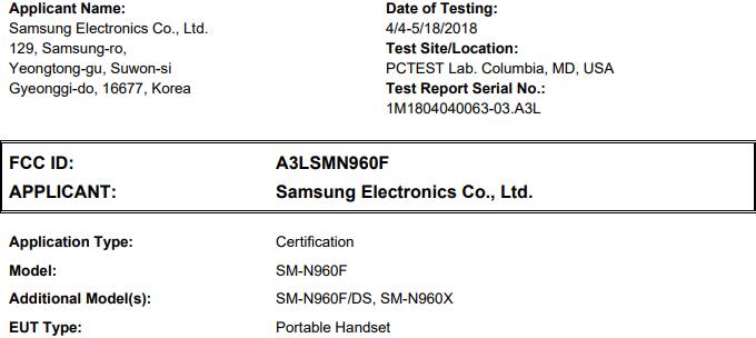 Samsung GALAXY Note 9 OFICIAL CONFIRMAT Lansare 1