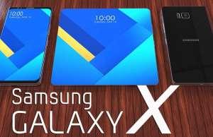 Samsung GALAXY X Ecran Pliabil PREMIERA 349662
