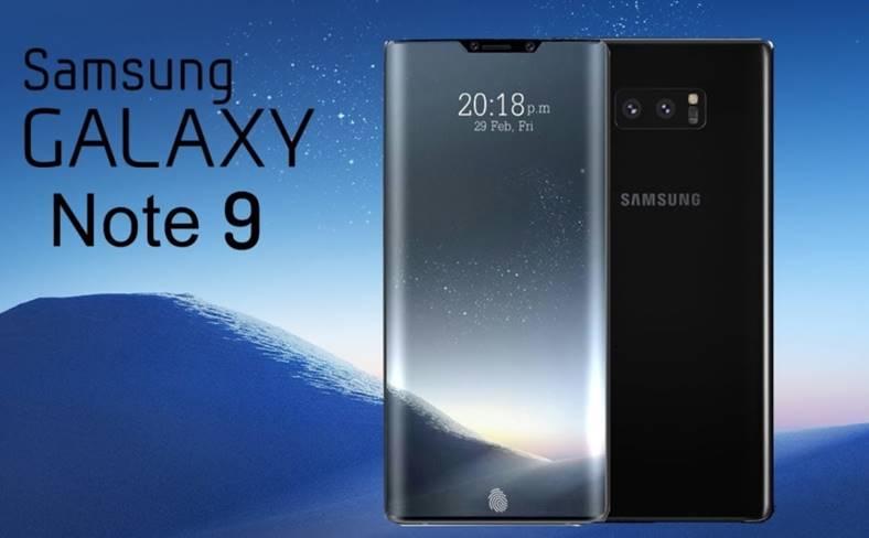 Samsung Galaxy Note 9 IMAGINI noul Design