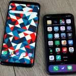 Samsung Galaxy S9 BUN iPhone X LACOMIEI Apple
