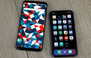 Samsung Galaxy S9 DOMINAT iPhone X Vanzari
