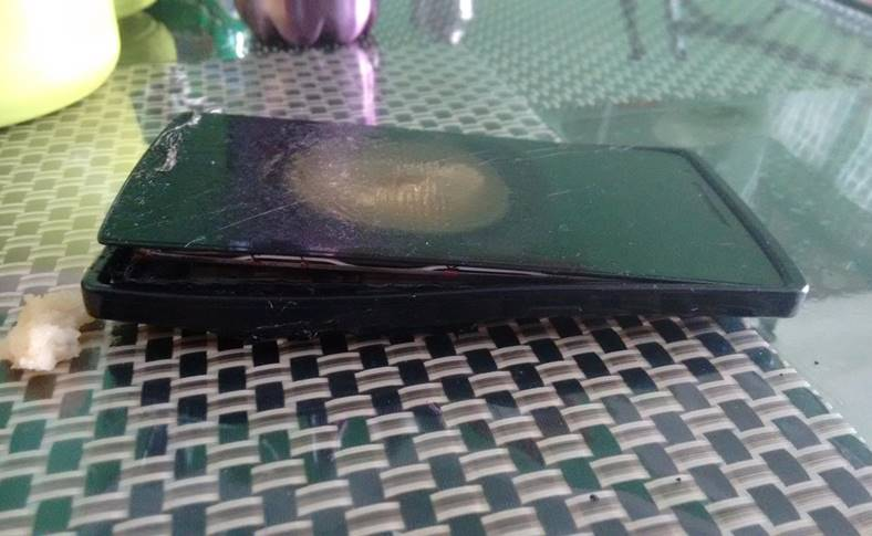 Telefon EXPLODAT OMORAT Barbat