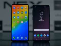 Vivo NEX Samsung Galaxy S9 Plus Comparatie Detaliata