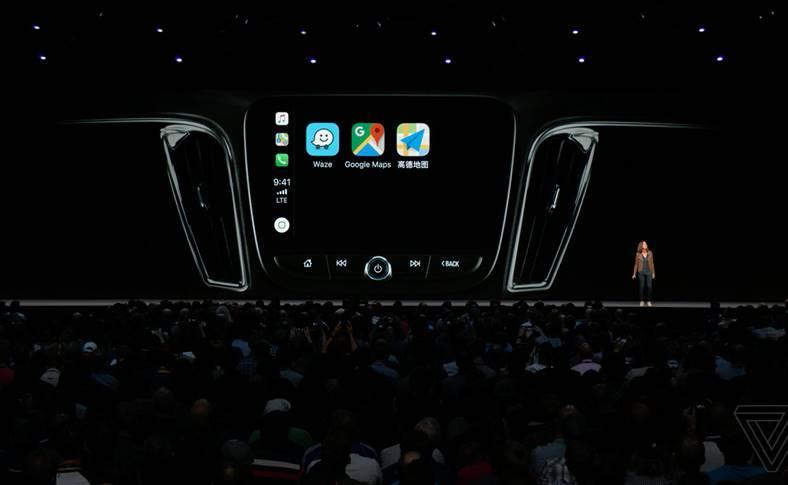 Waze Sygic Integrarea CarPlay iOS 12