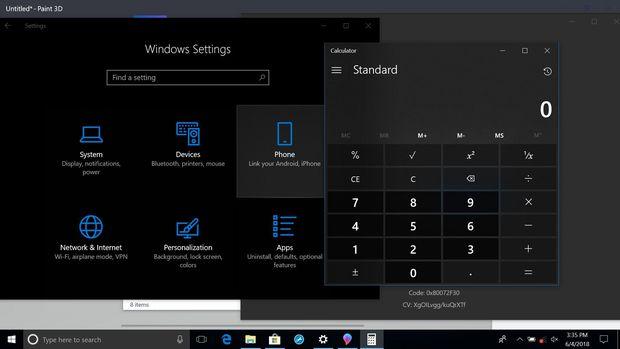 Windows 10 ACTIVEZI DARK MODE 1