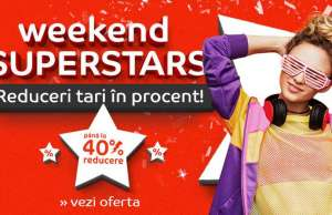 eMAG Weekend Superstars MII Reduceri Weekend